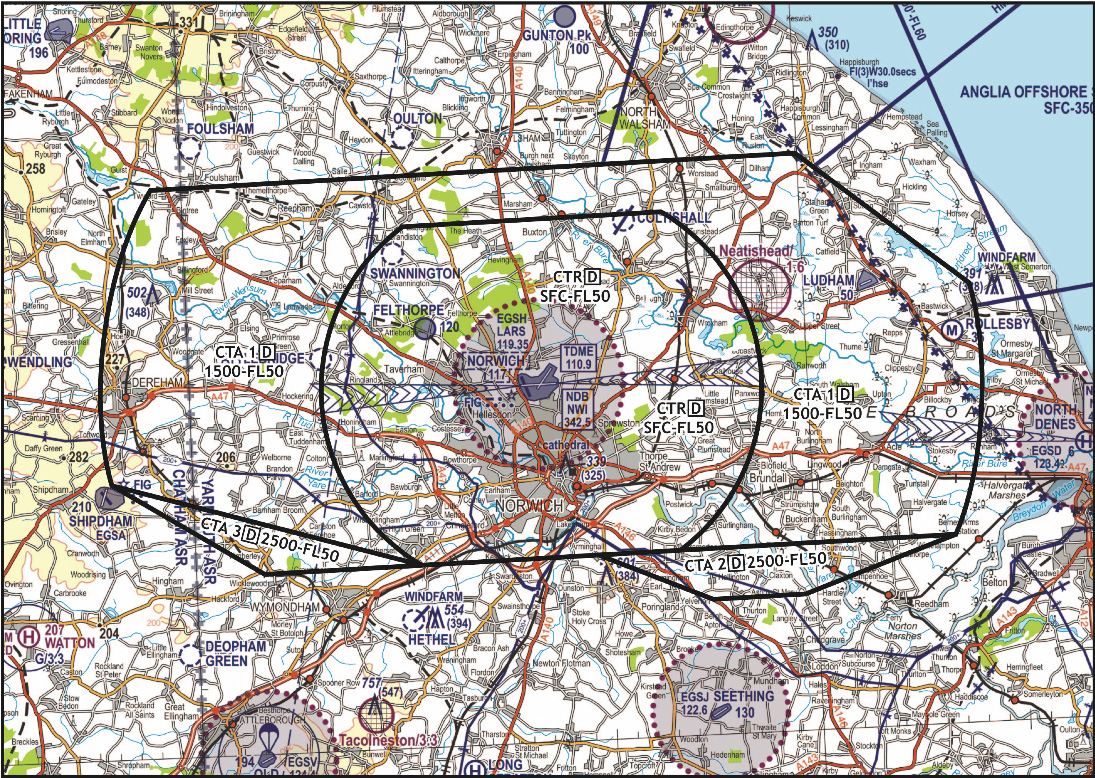 1501reviewofcontrolledairspacefornorwichairport FLYER