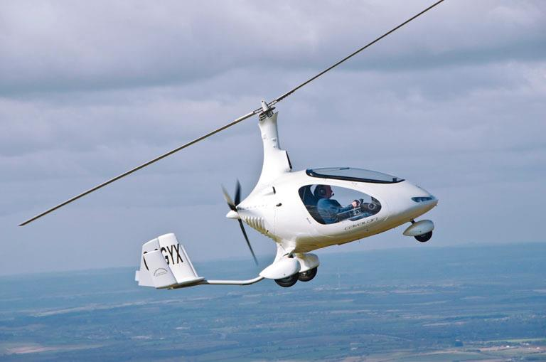 Cavalon gyroplane gains CAA type approval - FLYER