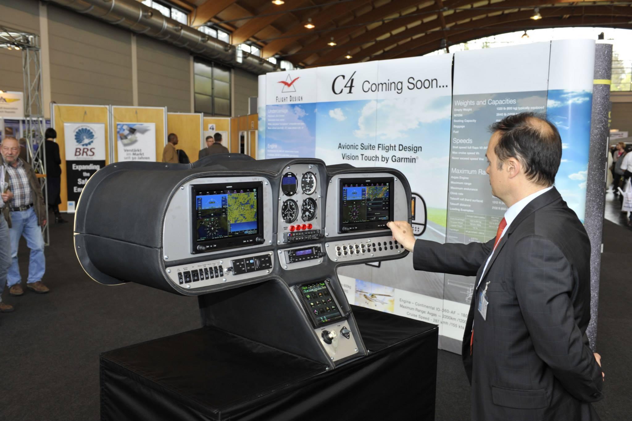 Flight Design C4 gets Garmin avionics - FLYER
