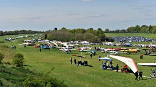 Popham microlight trade fair