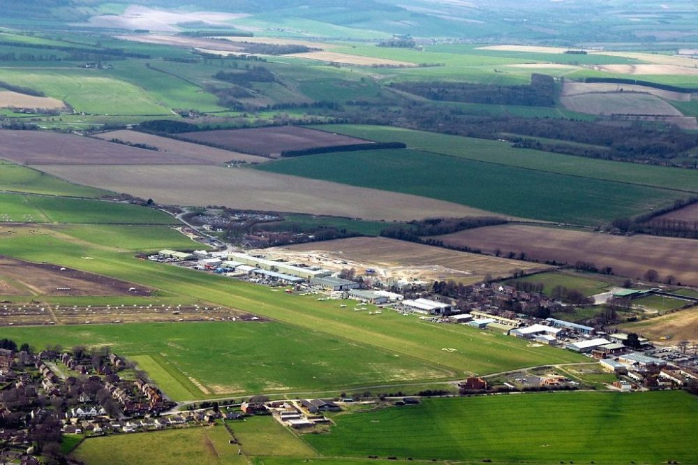 Old Sarum airfield