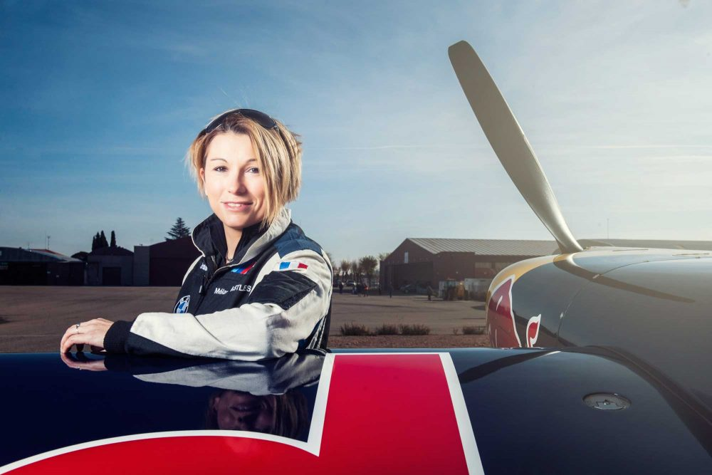 First Female Pilot For Red Bull Air Races Flyer