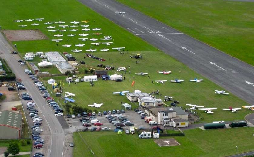 Dunkeswell Airfield fly-in