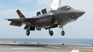 F-35B Farnborough airshow