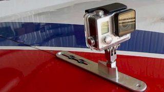GoPro aircraft mount