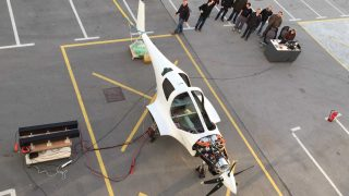 Pipistrel Siemens electric hybrid light aircraft