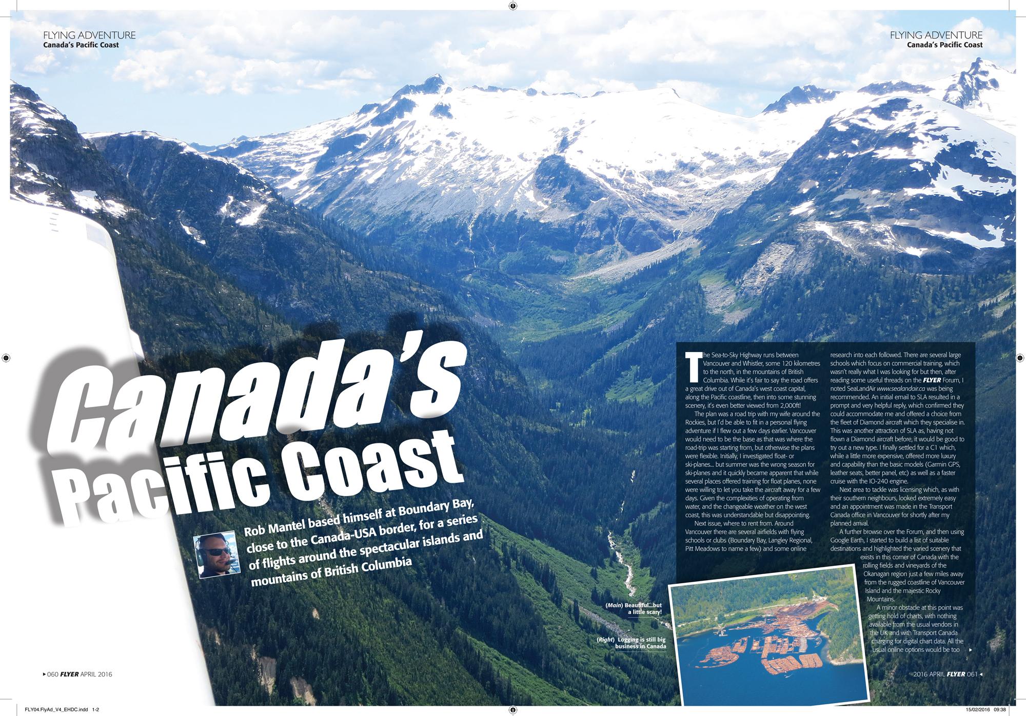 Flying Adventure in western Canada