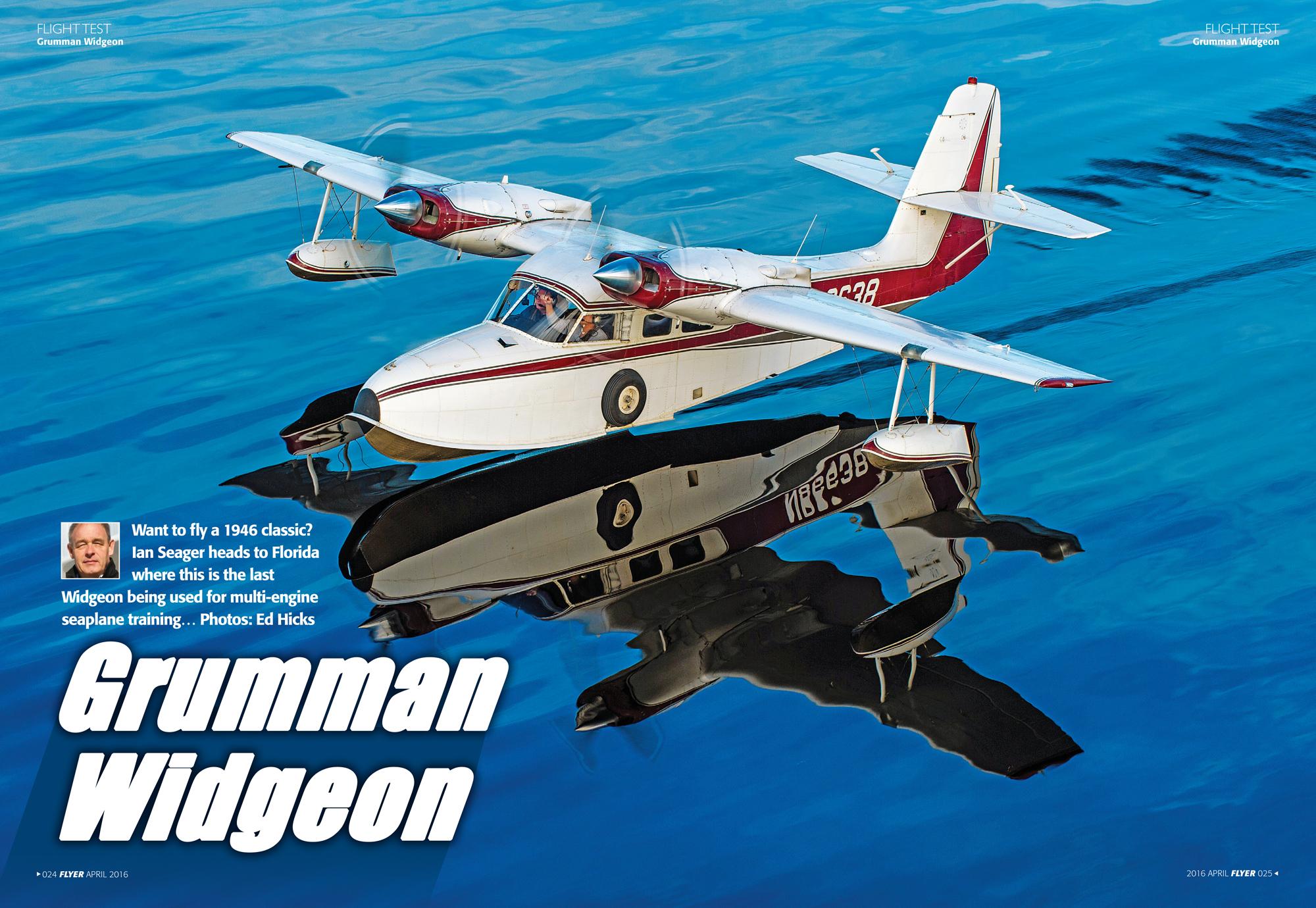 Grumman Widgeon flight test