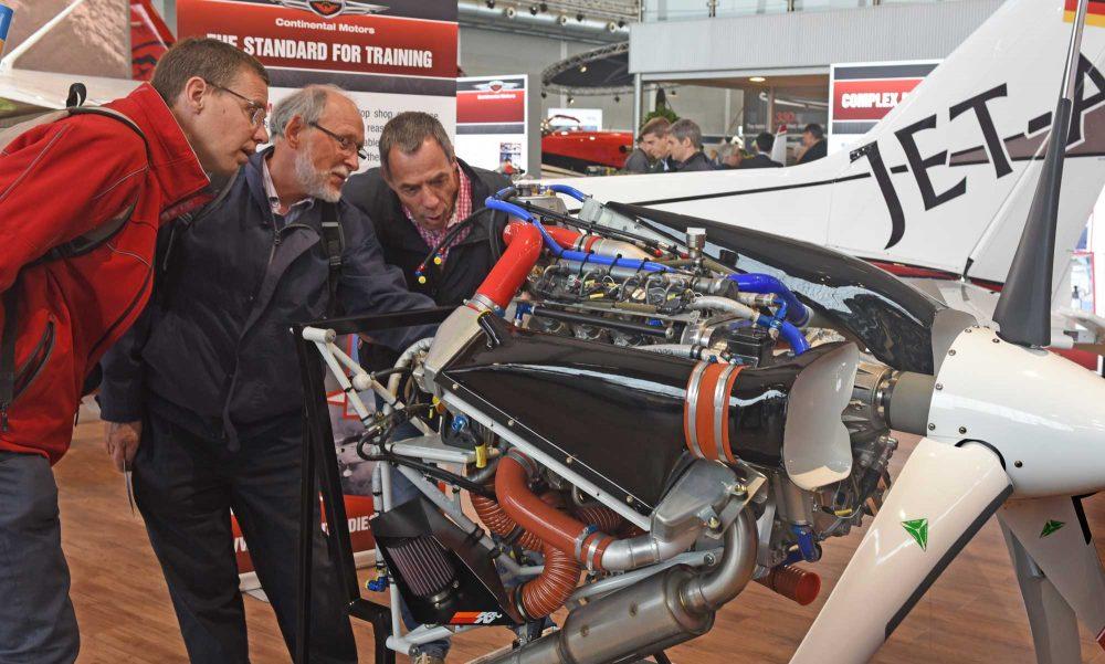 Continetal aero diesel engine AERO 2016