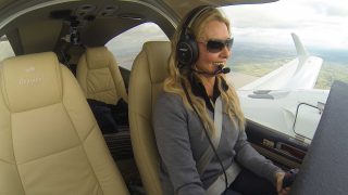 Carol Vorderman world flight Channel 5