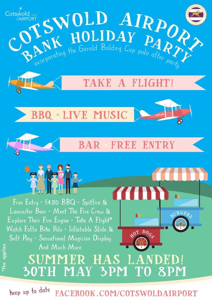 Cotswold Airport summer party