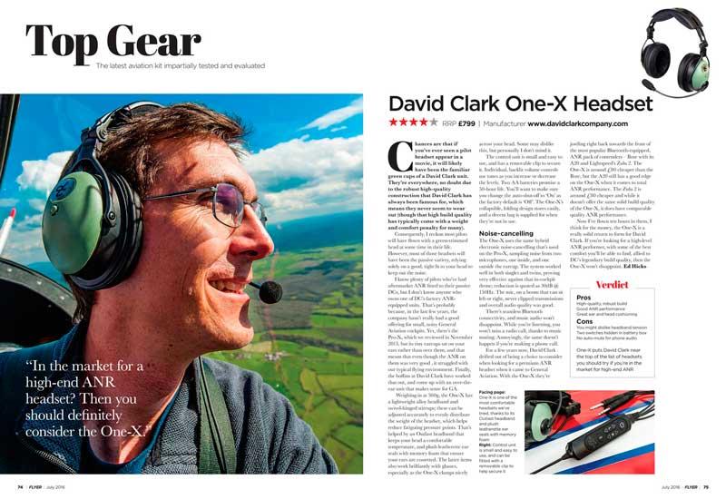 David Clark headset ONE-X