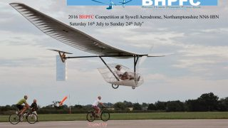 British Human Powered Flying Club Sywell 2016