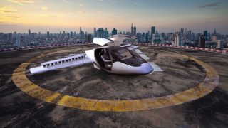 Lilium Aviation electric VTOL aircraft