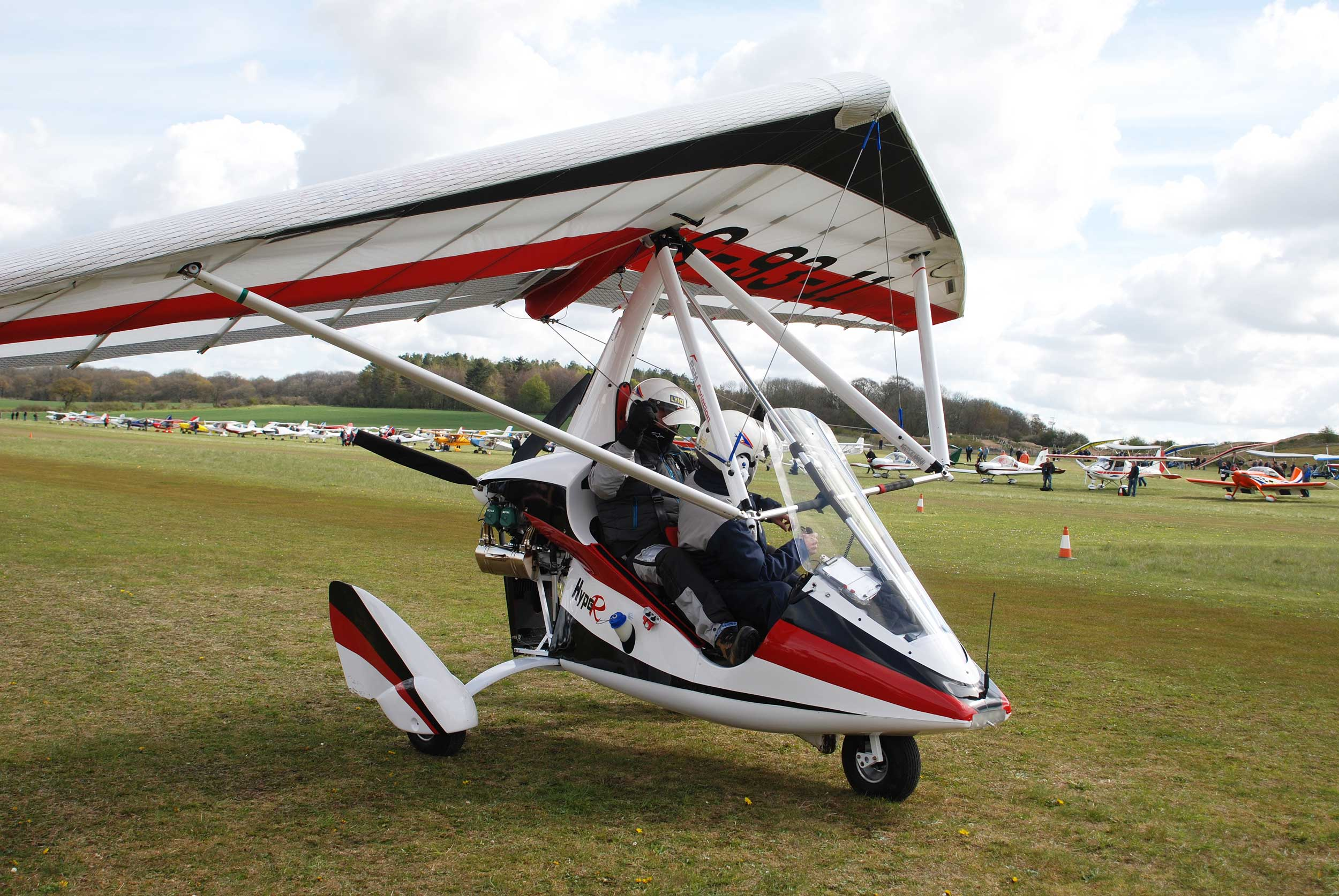 P Amp M Launches New Hyper Microlight Flyer
