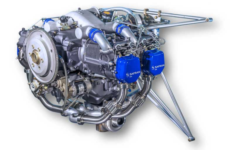 SMA Engine SR305 Cessna 182 Soloy