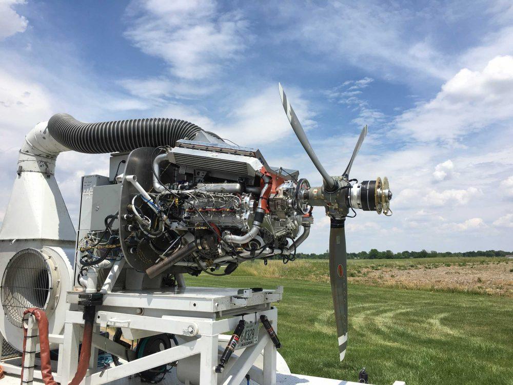 Progress for EPS Graflight 8 diesel - FLYER