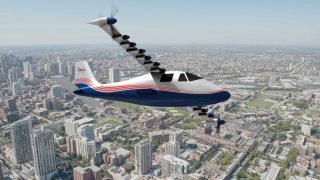 NASA electric X-plane