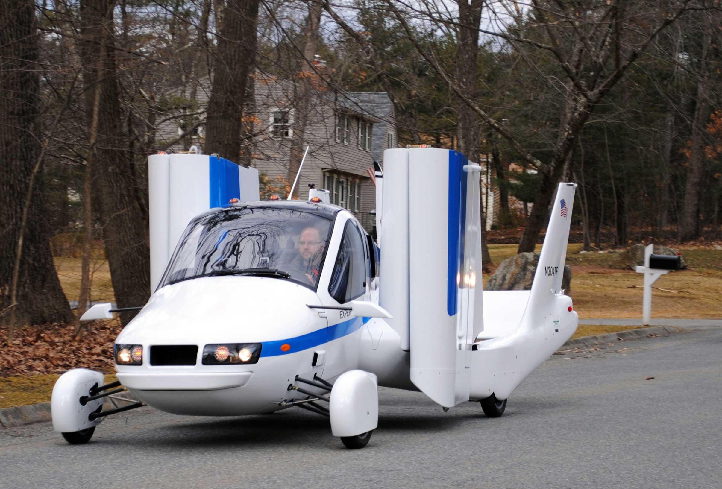 Weight increase for Terrafugia flying car - FLYER
