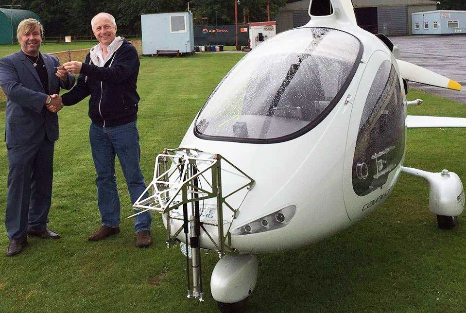 Cavalon Pro gyroplane