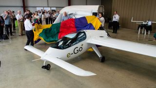 e-Go launch