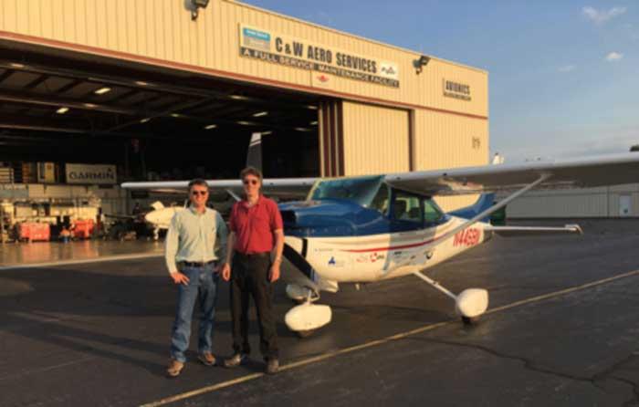 Cessna 182 SMA record