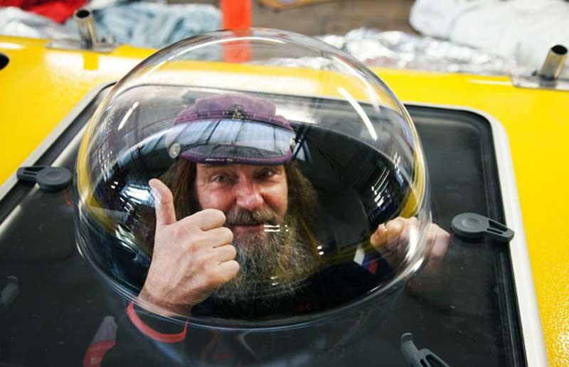 Fedor Konyukhov balloon pilot