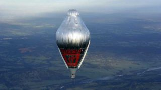 Fedor Konyukhov balloon flight