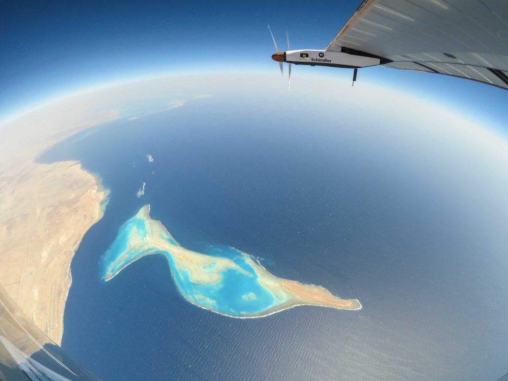 Solar Impulse Red Sea