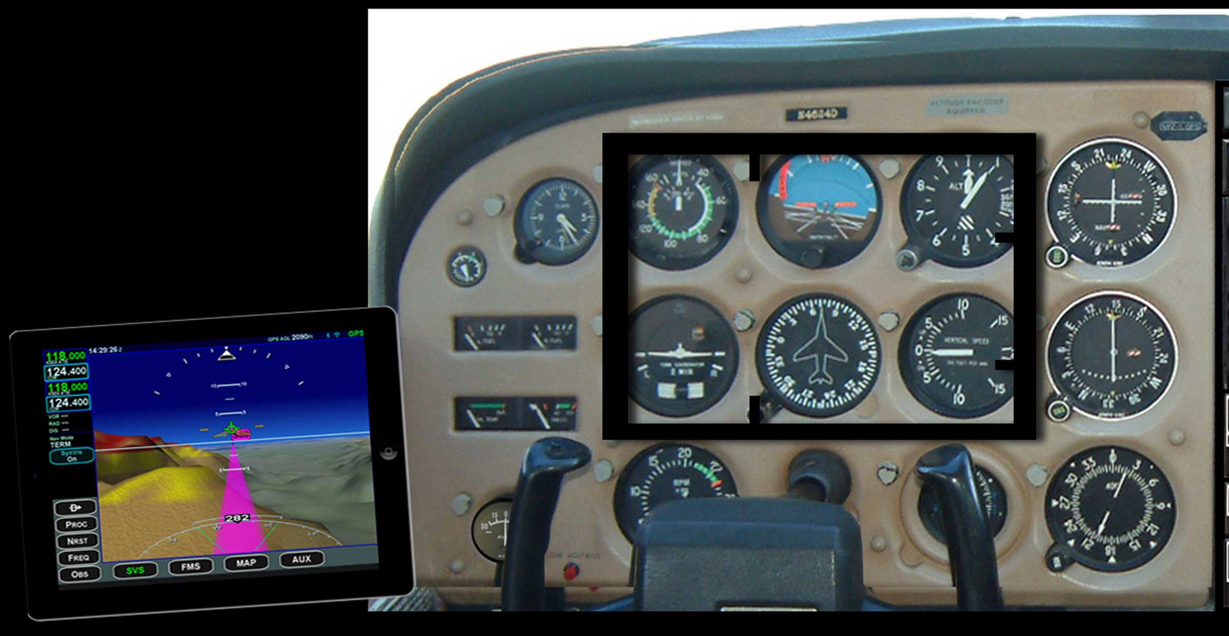 Avidyne's iPad glass cockpit conversion - FLYER