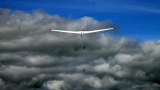 Glider airprox winch launch