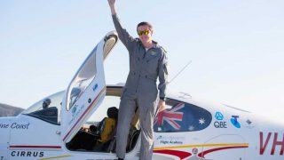 Lachlan Smart 18 year old pilot