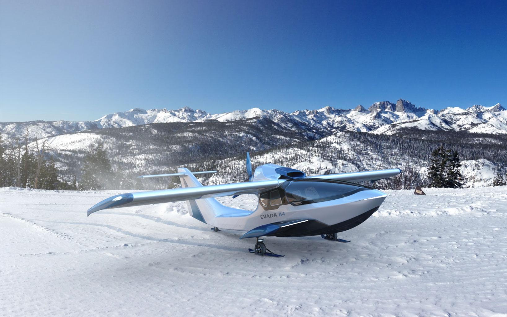 Evada A4 skis