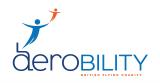 Aerobility Charity logo