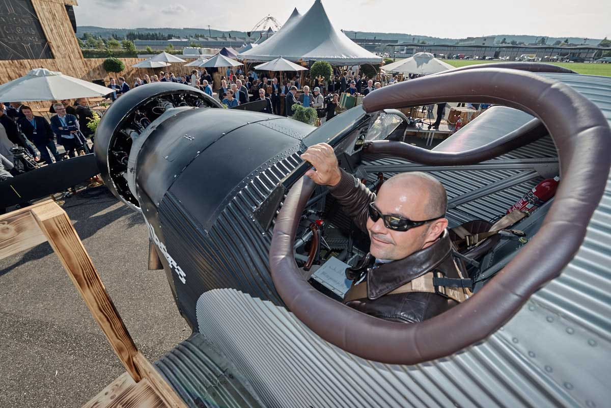 First Flight For Rimowa S Junkers F13 Replica Flyer