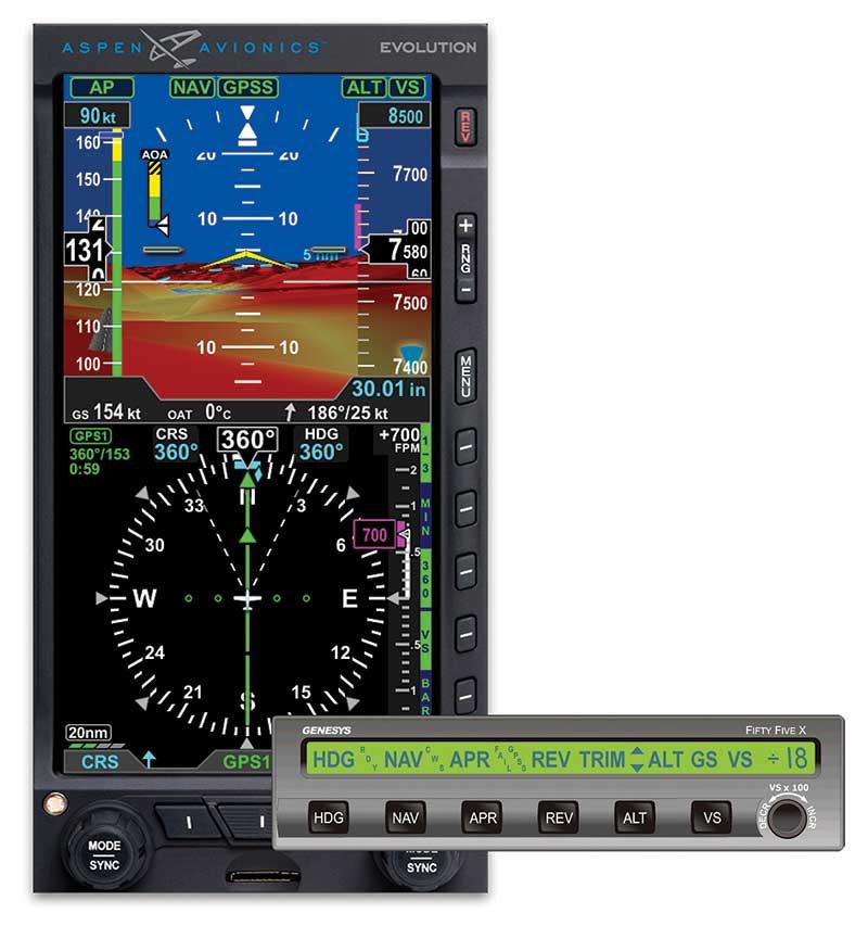 Aspen autopilot S=TEC