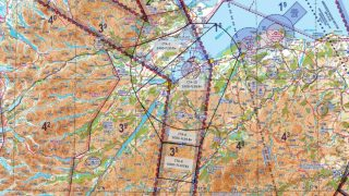 Inverness Airport airspace