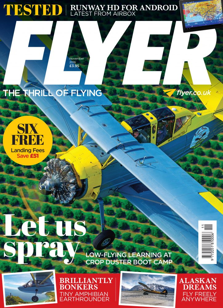 Flyer magazine November 2016 issue