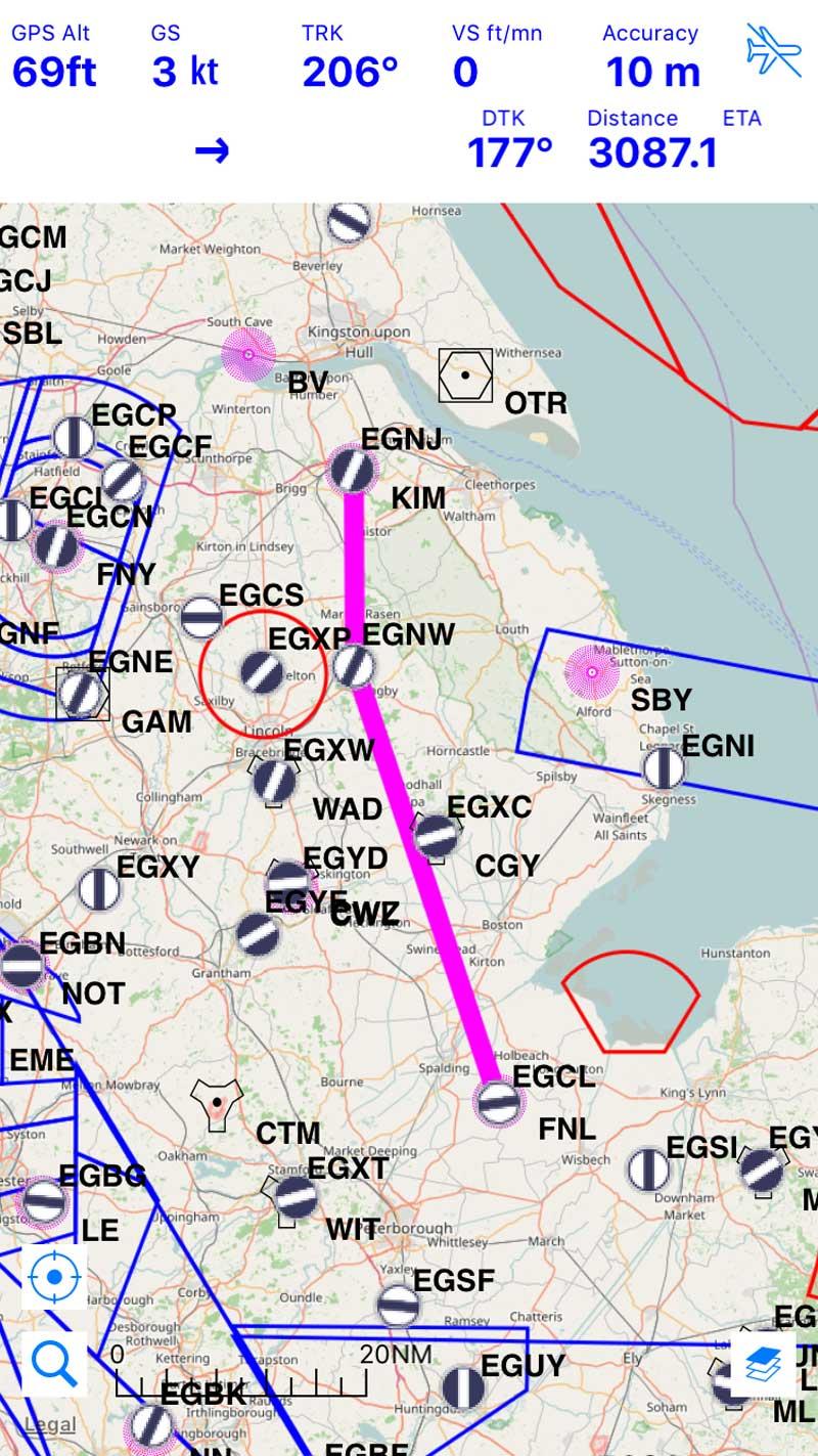 Airmate updates free flight planning app - FLYER on