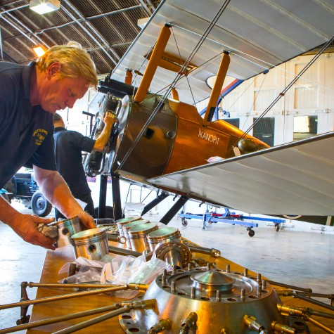 Shuttleworth Collection engineering open workshop