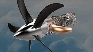 GE turboprop engine by 3D printing