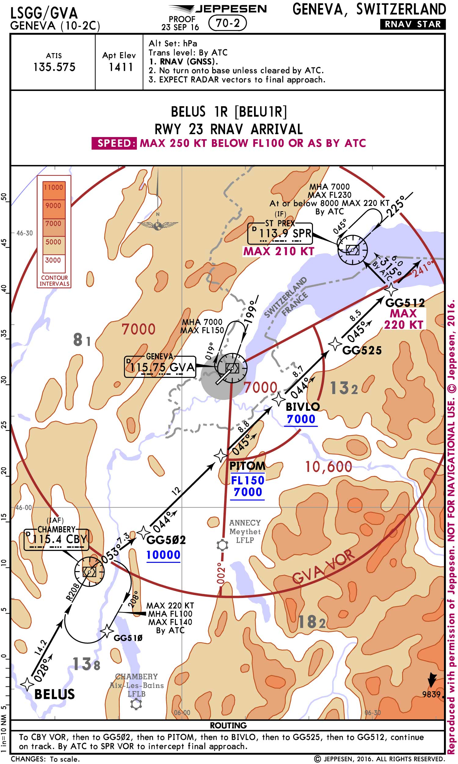 Jeppesen IFR charts