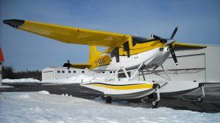 Pacific Aerospace E-350 floatplane