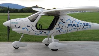 Pipistrel electric aircraft China