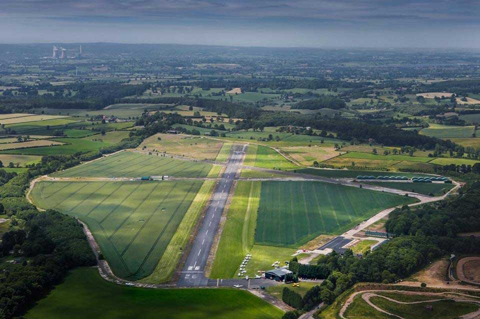 new runway for Tatenhill airfield