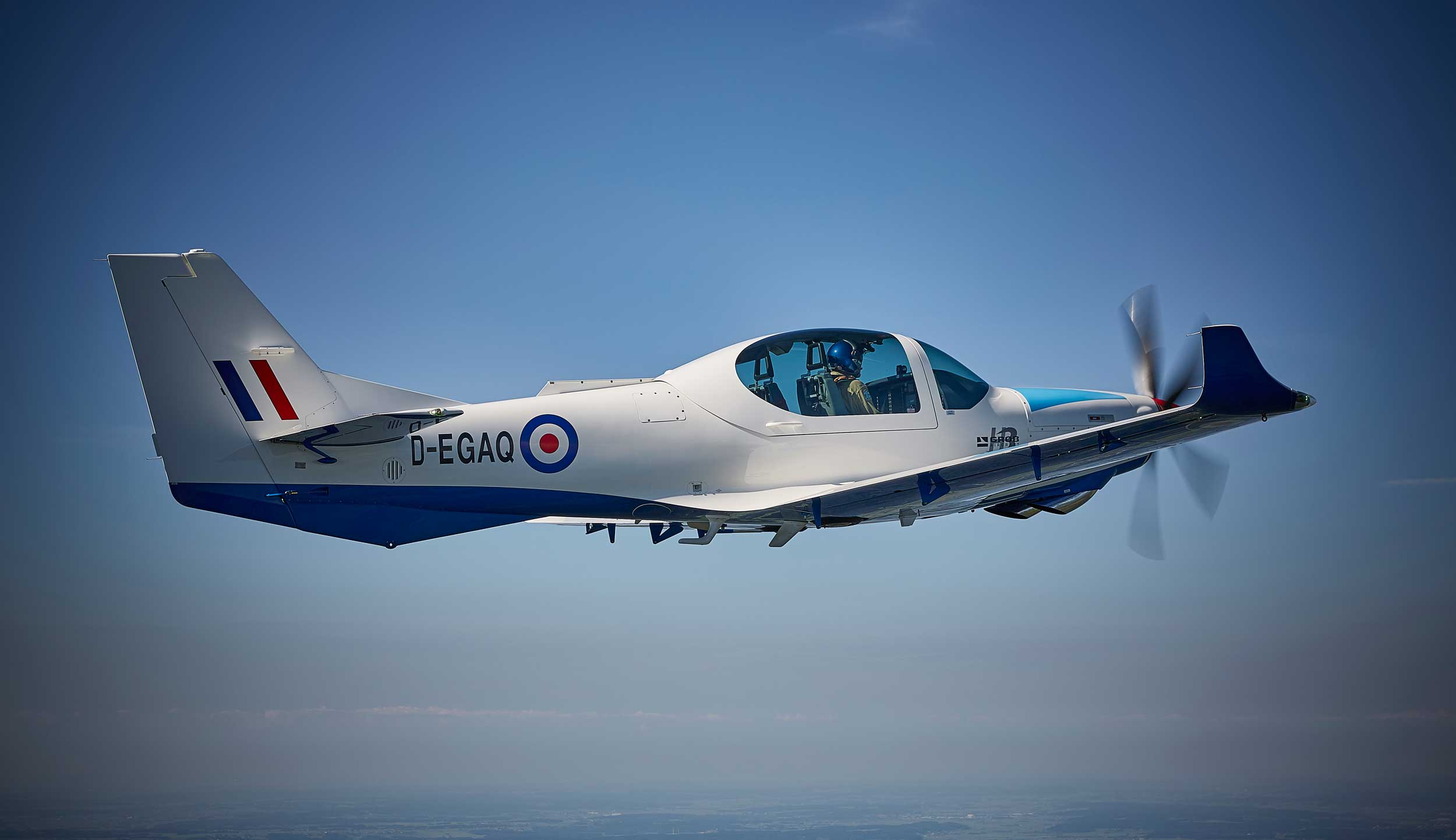 First Grob 120TP for UK military flight training - FLYER