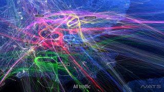 UK airspace NATS