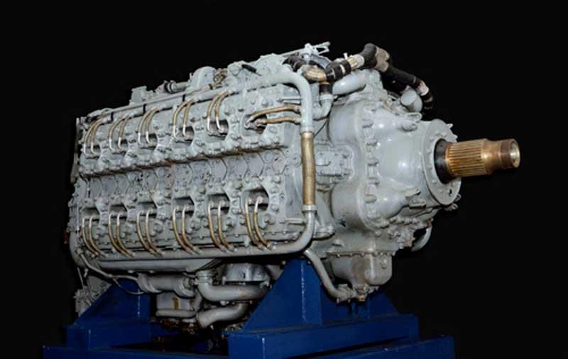 Project Typhoon Napier Sabre engine
