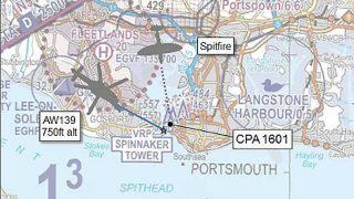 Spitfire airprox