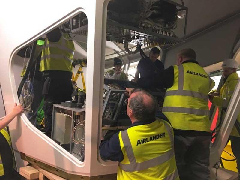 Airlander repaired